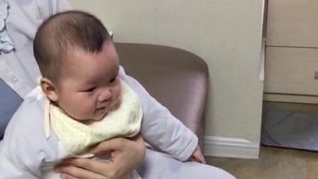 赵千珣  在妈妈的怀抱里幸福快乐 成长 2021.1.8