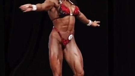 公认的最美女子健体选手
