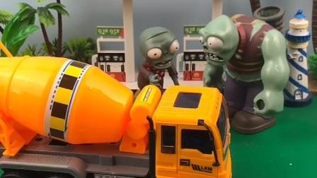 僵尸合伙开了加油站,莱德队长给僵尸想办法,僵尸说话变温柔了