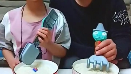 亲子游戏:父子俩,种上西瓜,棒棒糖,哈哈