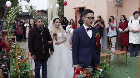 廖彬宇  何春蓉2021.1.8婚礼