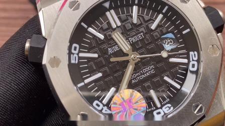 jf厂v10版爱彼15703皇家橡树离岸型腕表