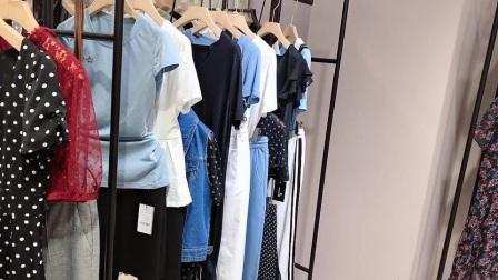 杰西伍品牌折扣女装尾货一手货源广州布梵季歌服饰