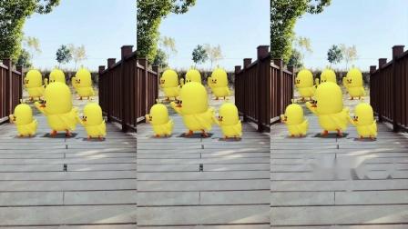 129-抖音沙雕抓鸭子