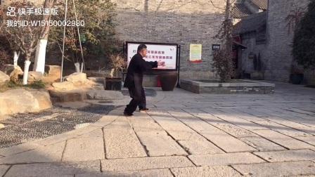 傅清泉徐州弟子王庆云演练传统杨式太极拳精炼28势