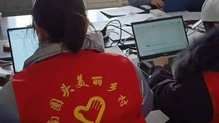 我是一只小小鸟!保定高阳县南圈头村十几名大学生志愿者及90多名志愿者防疫志愿服务中