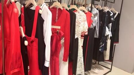 可可尼21春品牌折扣女装尾货走份批发一手货源广州布梵季歌服饰