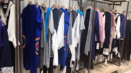 森塔斯冰麻系列品牌折扣女装尾货走份批发一手货源广州布梵季歌服饰