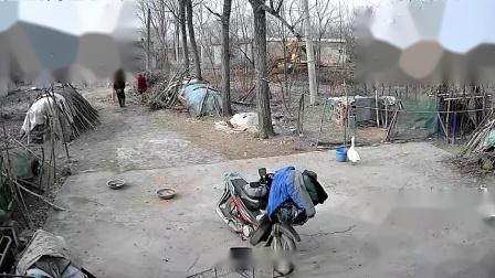2021年1月15日 摄像头拍摄下洼几户拆迁情况