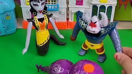 蝎子精抓了七娃,蛇精要把他送回去