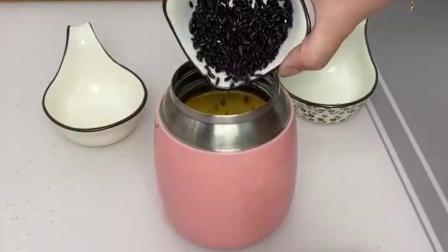 有了这个不锈钢焖烧杯,做个早餐太方便了