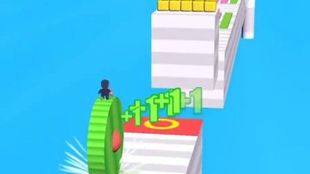 小游戏:卷绿饼