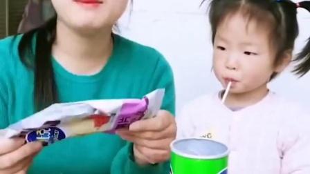 欢乐童年:妈妈的薯片里怎么都是空的呀