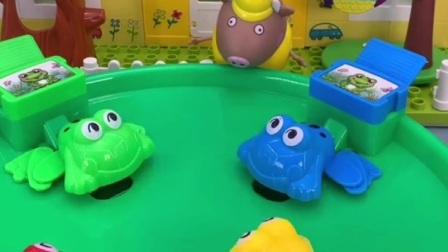 小青蛙吃豆豆,吃了好多痘痘