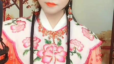 毛楠楠—黄梅戏—梦里君安《海滩别》选段
