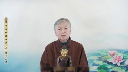 刘素云老师:《無量壽經》複講第二回-第13集0013
