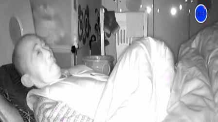 八十八岁老爷子半夜不睡觉这是练的啥功