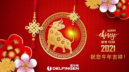 Chinese New Year 2021 德芬根祝您牛年吉祥!