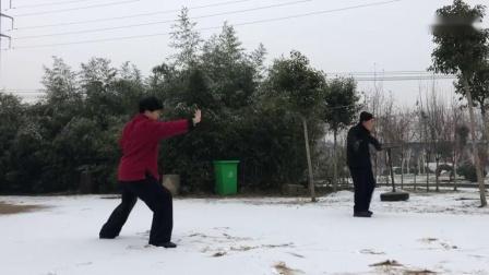 陈式洪派太极拳一路81式高老师演练