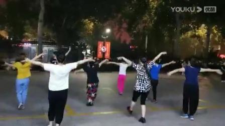 学跳广场舞(请到草原来)第一天2020.07.15