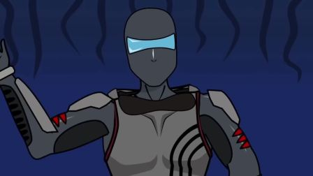 太空狼人杀:小小白VS小小黑,也许他是机器人!