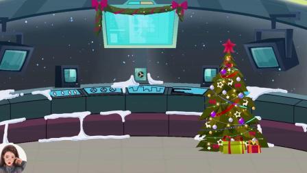 太空狼人杀:船员留圣诞老人吃晚饭,没想到他恩将仇报!