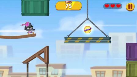 汤姆猫总动员 小兔在玩的游戏