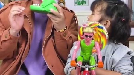 趣事童年:妈妈你的香蕉是假的啊!