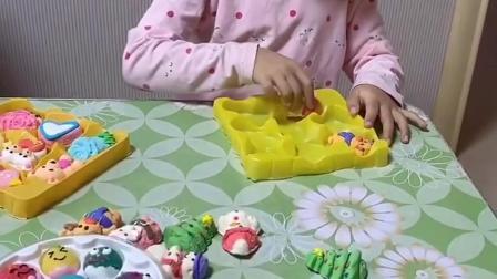 趣事童年:妈妈给朵朵加油装的好快