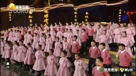 我在丝路新春!韩磊尚雯婕玩嗨小年夜截了一段小视频