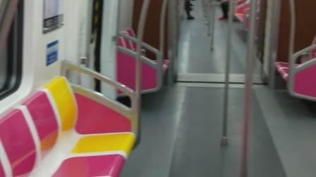 青岛地铁8号线  列车运行红岛火车站→大涧区间