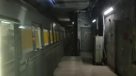 【2020.12.12】北京地铁6号线(潞城方向)06016号车-平安里进站