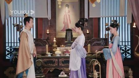 武才人刻意接近太子殿下,为以后的路做打算。