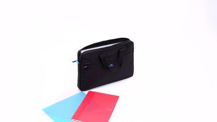 RIVACASE 8037 black Laptop bag 15.6