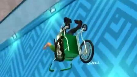 小游戏:会飞的轮椅