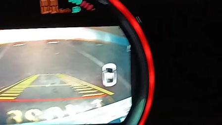 导航的后视影像安装歪了