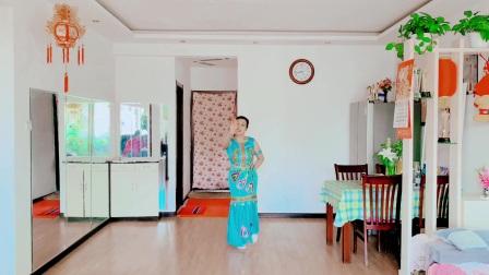 学跳傣族舞 表演 圆梦