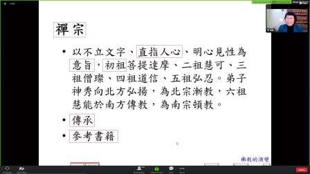 22屇佛學基礎第15課-中國佛教-國語傳譯未經校對-僅供參考