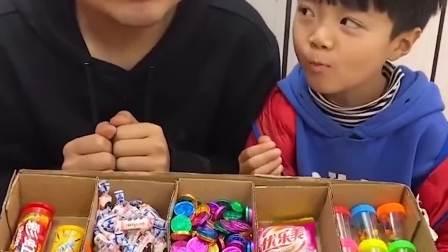 欢乐亲子:小朋友偷吃糖果