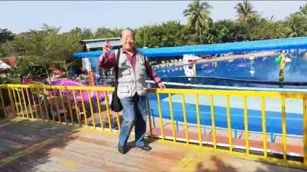 琼海龙寿洋田园公园周世昆老人家一游