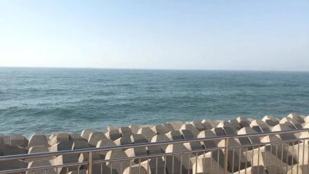 情人坝看海
