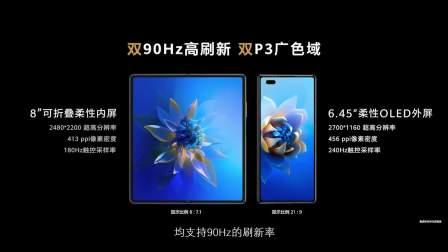 """一分钟看完华为Mate X2发布会 新一代""""理财""""手机"""