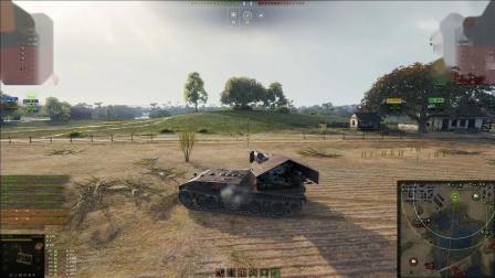 坦克世界 大白云顶着3火炮12000纯伤最后一秒翻盘