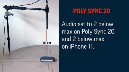 Poly演示中心| Poly Sync 20  VS Jabra Speak 510 对比演示