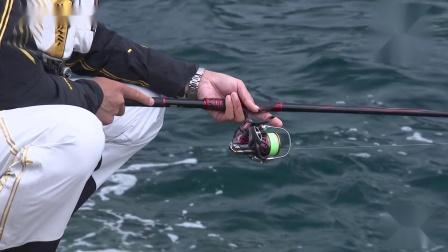 (矶钓) 入冬后挑战大型黑毛鱼