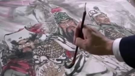 """2021年牛年春节,""""画家曾成聪,演员陆树铭"""",新年祝福#画家曾成聪#演员陆树铭#2021年春节"""