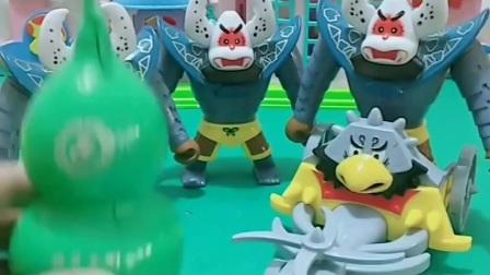 益智玩具:蝎子精的孪生兄弟来了,葫芦娃还能打败蝎子精吗?
