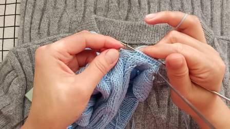 珍珍编织丛林套头毛衣下集