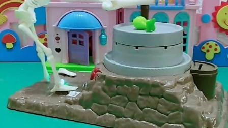 益智玩具:小豌豆变大去救爸爸了,小向日葵为什么没变大?