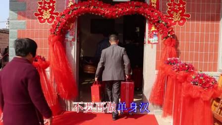 张子雄 翁丽琴喜结良缘2021年正月十二